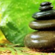 Balanced Stones & Relaxation Oil — Stock Video #23257250