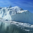 Large Iceberg Adrift in the Arctic — Vídeo de stock