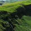 Aerial View of an Icelandic Plateau — Stok video