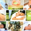 Montage of Luxury Spa Treatment Lifestyle — 图库视频影像