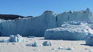 Majestic Ice Glacier in the Arctic — Stock Video