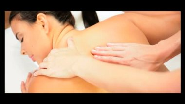 Montage of Luxury Female Spa Treatment — Stock Video