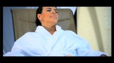 Montage of Luxury Female Spa & Recreation Lifestyle — Stock Video