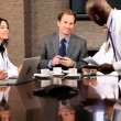 Multi Ethnic Medical Executive Boardroom Meeting — Stock Video #23333946