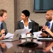 Stock video: Group of Multi Ethnic Business Executives