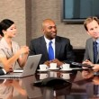 Multi Ethnic Business Group in Meeting — Stock Video