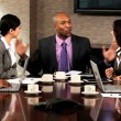 Successful Multi Ethnic Team of Business Advisors — Stock Video #23336458
