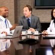 Multi Ethnic Medical Executives in Boardroom — Stock Video #23336770