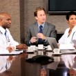 Meeting of Medical Executives and Financial Advisors — Stock Video #23336878