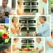 Stock Video: Montage of Mature Couple Leisure Lifestyle