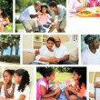 Stock Video: Montage Images of Modern Ethnic Family Lifestyle