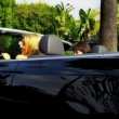 California Girls in Luxury Convertible — Αρχείο Βίντεο #23702961
