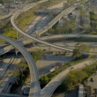 Aerial view of elevated road transportation system, USA — Stock Video #23704083