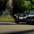 Pretty Girls Cruising Through Beverley Hills — Stock Video