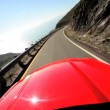 Stock Video: Cabriolet Pacific Highway SFrancisco