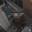 Aerial view of US Bank Tower Los Angeles, USA — Stock Video