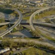 Aerial view of elevated road transportation system, USA — Stock Video #23707091