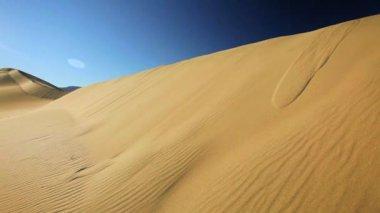 Sand Dunes Waterless Environment — Stock Video
