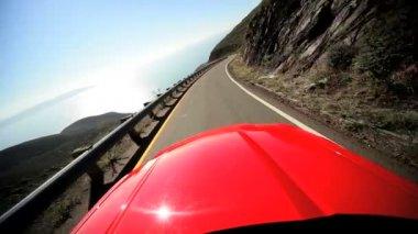 Cabriolet Pacific Highway San Francisco — Stock Video