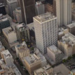 Aerial view of city buildings, Los Angeles, USA — Stockvideo