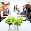 Stock Video: Multi Ethnic Boardroom Business Meeting