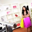 Girlfriends Shopping Chic Boutique - Foto Stock