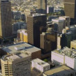 Stock Video: Aerial city view urbskyscrapers, Los Angeles, USA