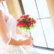 Pretty Brunette Bride Soft Lighting - Stock Photo