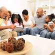 African American Generations Wireless Technology — Stock Video