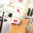 Stock Video: Fashionable Clothing Boutique Interior
