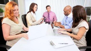 Advertising Consultants Team Meeting — Stock Video