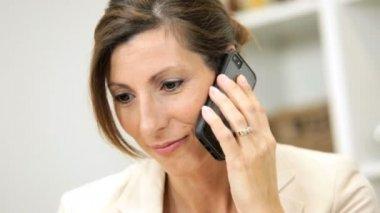 Ambitious Caucasian female business consultant — Stock Video