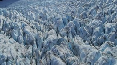 Ice Glacier constantly moving — Video Stock