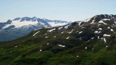 Mountain peaks and ridges — Stock Video