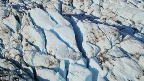 Παγετώνας Moraine καλύπτονται — Vídeo de stock