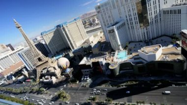 Las Vegas hotels and casinos — Stockvideo