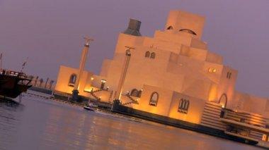 Museet för islamisk konst — Stockvideo