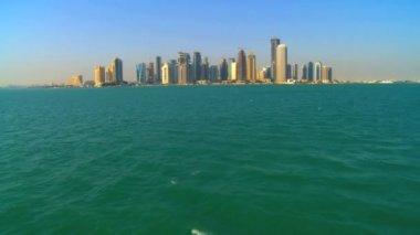 Modern cityscape buildings city — Stock Video