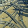 Aerial view Sheikh Zayed expressway, Dubai — Stock Video #51678409