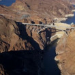 Aerial view Hoover Dam, US 93, Las Vegas — Stock Video #51678597