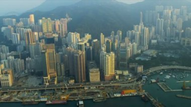 Visa Causeway Bay Hong Kong Island — Stockvideo