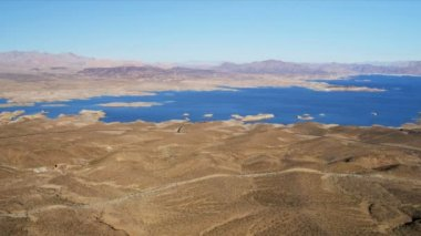 Lake Mead reservoir — Stock Video