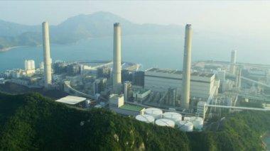 Lamma Power Station — Stock Video
