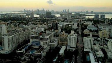 Aerial view of Miami, Florida — Stock Video
