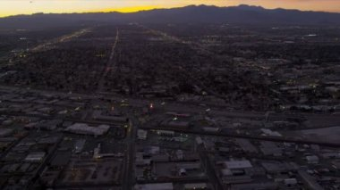 Aerial view Las Vegas Metropolitan areas — Stock Video