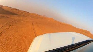 Dune bashing adventure — Stock Video