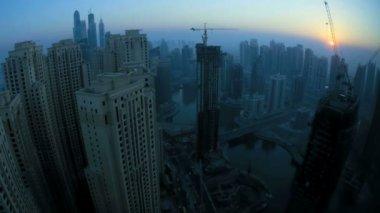 Jumeirah at sunrise — Stock Video