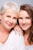 Stunning Mother and Daughter — Stock Photo