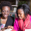 African American Students helping with assignment — ストック写真 #36792215