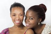 Afrika kökenli amerikalı arkadaşlarım seviyoruz — Stok fotoğraf
